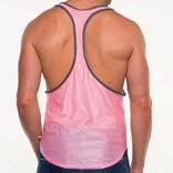 Go Softwear/American Jock AJ Elite Sport Track Tank - Pink