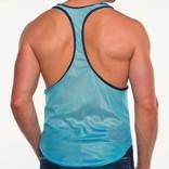 Go Softwear/American Jock AJ Elite Sport Track Tank - Turquoise