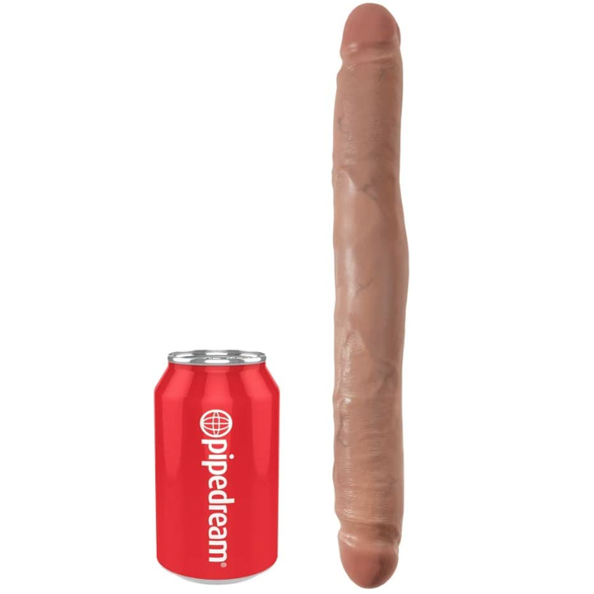 "King Cock Slim Double Dildo 12"" - Medium"