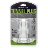 Perfect Fit Double Tunnel Plug Clear L