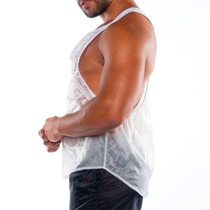 Go Softwear/American Jock HC Fluid Gym Tank - White