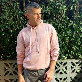 Chris Turk Pink Tie Dye Hoodie - Chris Turk
