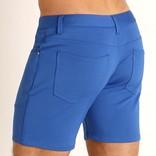 "STEELE 5"" Knit Shorts - Petrol Blue"