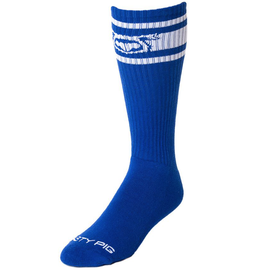 Nasty Pig Hook'd Up Sports Sock - Surf Blue/White