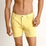 """STEELE 5"""" Knit Shorts - Lemon Drop"""