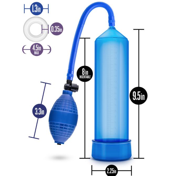 Performance Vx101 Male Enhancement Pump - Blue