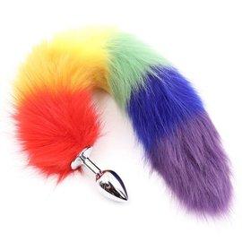 Rainbow Fox Tail