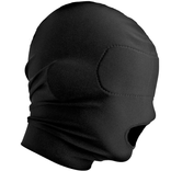 Open Mouth Hood with Padded Blindfold - Master Series Disguise