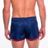 Go Softwear/American Jock Dolphin Swim Short - Navy/Red