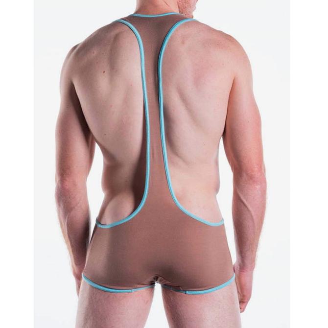 Go Softwear/American Jock Body 2 Extreme Suspensory Singlet - Sand