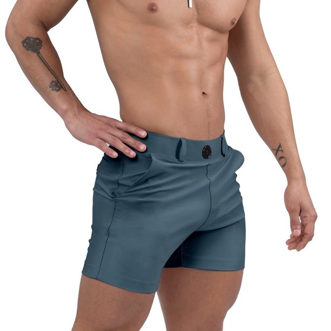 Jimaye Sustainable Vers Swim Shorts - Storm