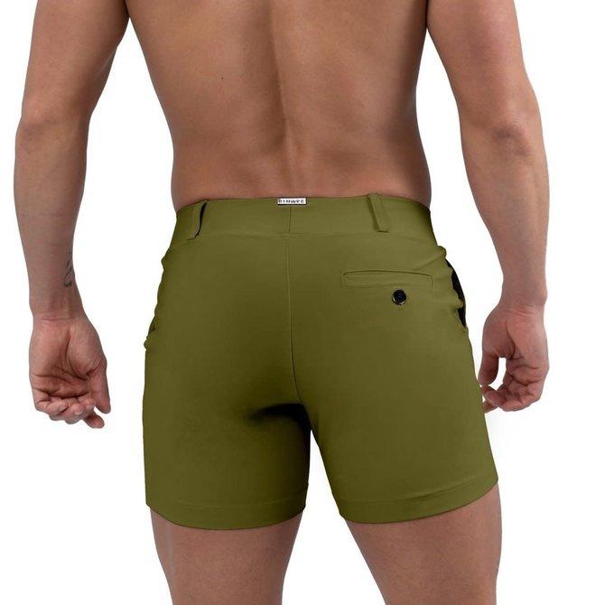 Jimaye Sustainable Vers Swim Shorts - Moss