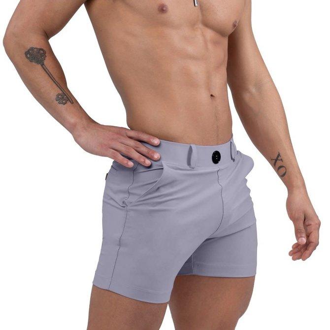 Jimaye Sustainable Vers Swim Shorts - Lavender
