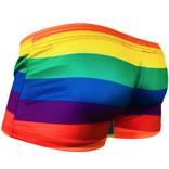 Knobs Rainbow Stripes - Knobs Swim Trunk