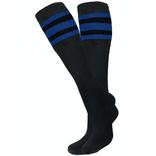 Knobs Tube Socks - Black/Royal