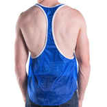 Go Softwear/American Jock Hard Core Aviator Gym Tank - Royal Blue