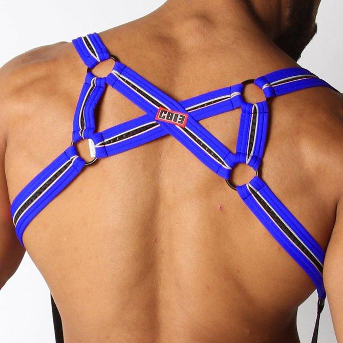 Cellblock 13 X-Back Mesh Harness - Blue