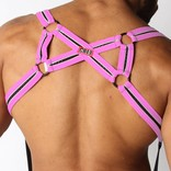 Cellblock 13 X-Back Mesh Harness - Pink