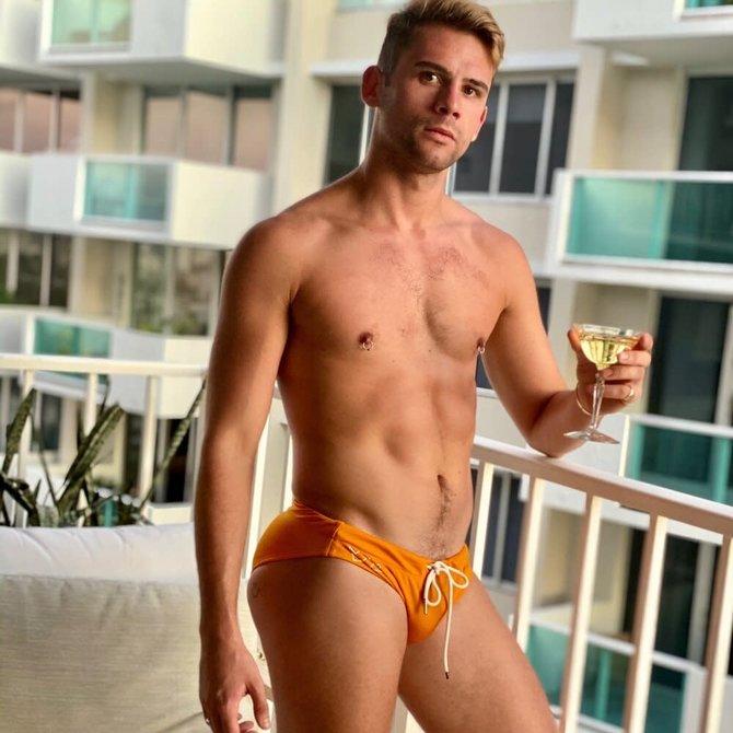 Chris Turk Golden Yellow Relaxed Fit Swim Brief - Chris Turk
