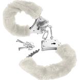 Furry Handcuffs - White