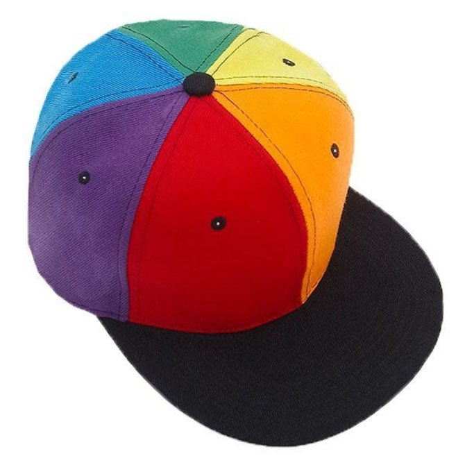 Knobs Rainbow Panels Hat