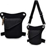 Knobs Small Canvas Leg Bag