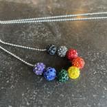 Alan Leingang Philly Disco Ball Necklace