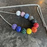 Alan Leingang Progress Disco Ball Necklace