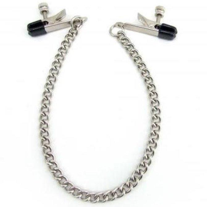 Alligator Nipple Clamps w/Chain