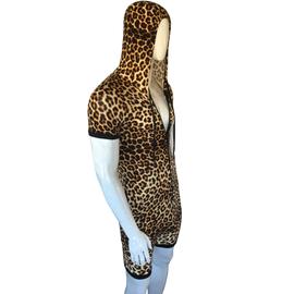 Knobs Leopard Romper