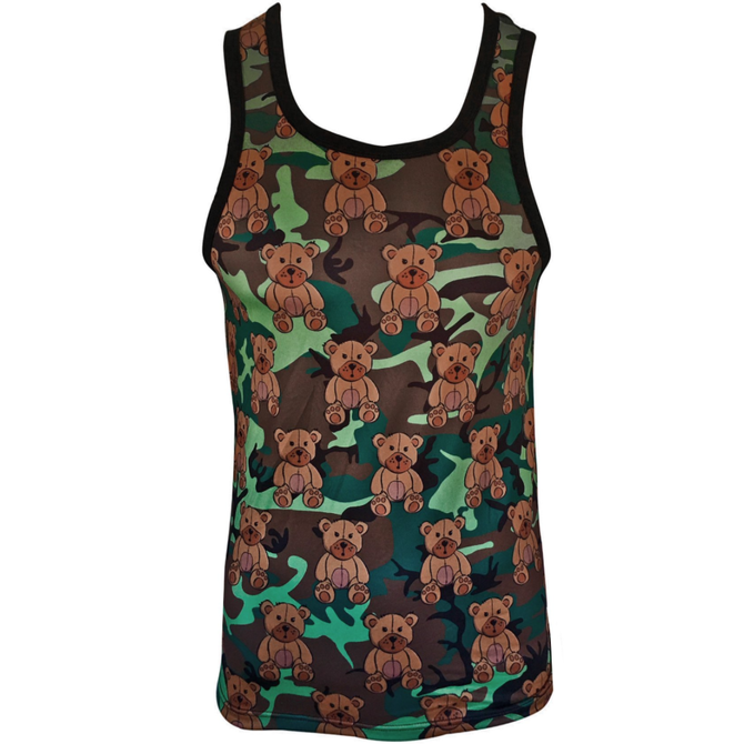 Knobs Bears Tank - Camo
