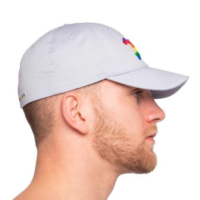 skull & bones Fitted Pride Skull Hat