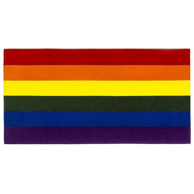 Oversized Rainbow Beach Towel