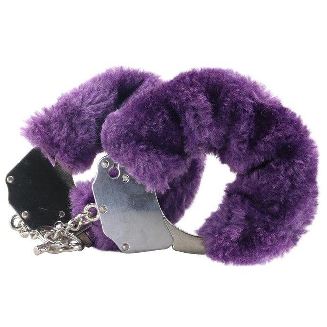 Furry Handcuffs - Purple
