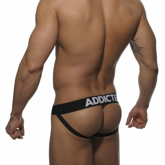 Addicted/ES Push Up Jock - Black/Camo