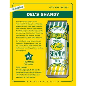 Narragansett Del's Shandy 6/16