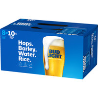 Bud Light 8 pack of 16oz Cans