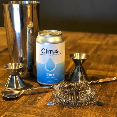 Cirrus Sparkling CBD Water Pure 12oz