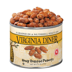 VA Diner Honey Roasted Peanuts 9oz