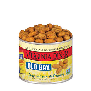VA Diner Old Bay Peanuts 10oz