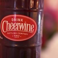 Cheerwine 12oz Glass Bottle