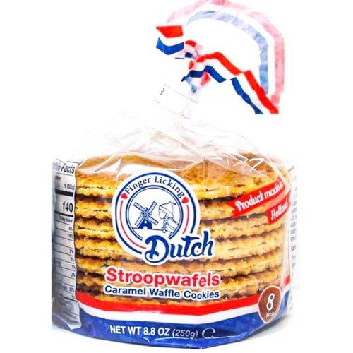 Finger Licking Dutch Stroopwafel 8pk