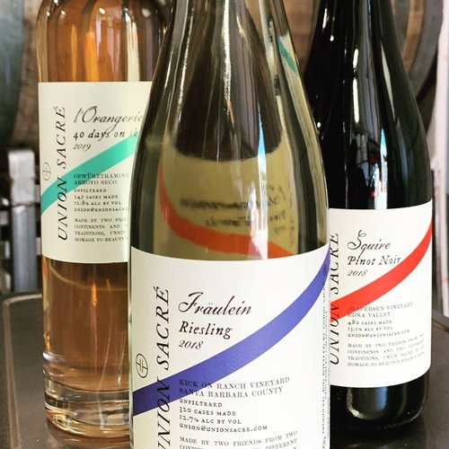 Union Sacre 2018 Fraulein, Dry Riesling, Reserve