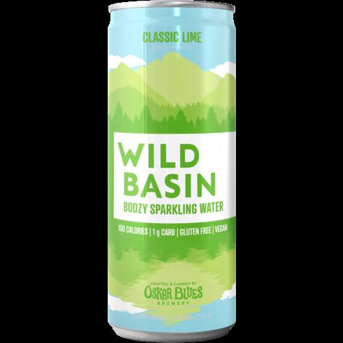 Oskar Blues Wild Basin Lime Boozy Sparkling Water 19.2oz