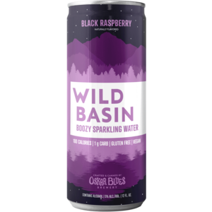 Wild Basin Black Raspberry Boozy Sparkling Water 19.2oz