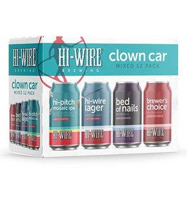 Hi-Wire Brewing Hi-Wire Clown Car Mixed Pack 12/12