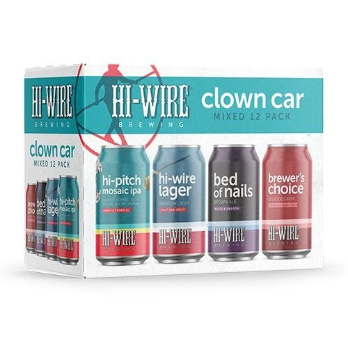 Hi-Wire Clown Car Mixed Pack 12/12