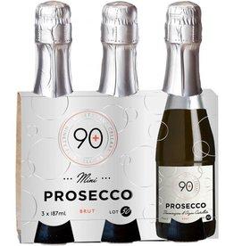 90 + 90+ Cellars Prosecco Brut 3pk