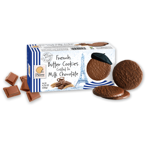 Pierre Biscuiterie French Butter Milk Chocolate Cookies