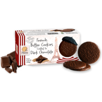 Pierre French Butter Cookies Dark Chocolate